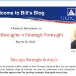 Bill's Blog  March 28, 2020